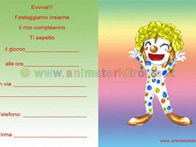 Clown capellone